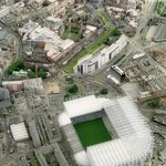 Aeriel view, right next to St James' Park. perfect place for a pint on match day!