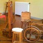 L'atelier de Renoir (et sa chaise roulante d'où il peignait)