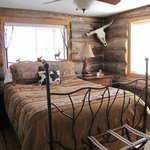 One of our two rooms, cowboy themed