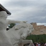 Crazy Horse monument not far