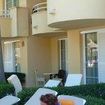 Chambre up-grade avec terrasse