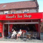 Hazel's Tea Shop.