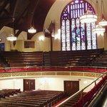 Sanctuary of Mother A.M.E. Zion Church, Harlem, NY