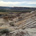 a great view inside the canyon with mini hoodoos too!
