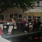 Tuinrestaurant van het hotel