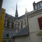Amiens Cattedrale dall'hotel
