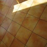 cracking floor