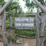 Entrance to the garden.