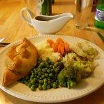 Local Cornish pasty