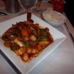 Duck Prig King Red Curry(tender duck and curry can't be beat)