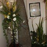 Flower festival in St Thomas' Church