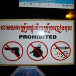 Un rappel des restrictions de l'hôtel !!!