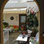 Lindian Jewel Apartment courtyard