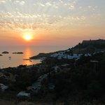 Sunrise over Lindos