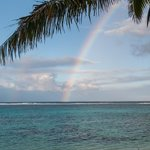 Rainbow in Distant Shower