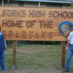 Forks HS sign