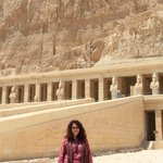 At Hatshepsuts temple in Luxor