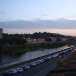 Bela vista do rio Arno.