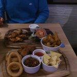 the meat platter yum yum!