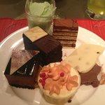 seafood buffet dessert
