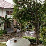 vue terrasse villa Baan Jasmin