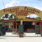 Tropical Paradise entrance.