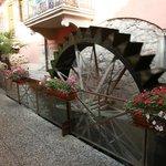 Mill wheel by reception