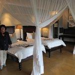 Guest Room at Tinga Lodge