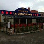 Dragon d'or à Thionville.