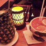 Cocktails at the Tonga Room & Hurricane Bar