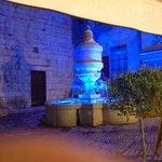 fontaine du bistro du peyra