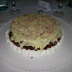 la torta per il mio compleanno!