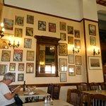 Detalhe do restaurante Athinaikon