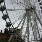 the wheel is fantastic almost as good as the London Eye