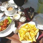 Silver-service refreshments