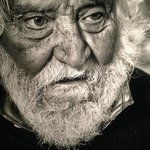 One of Tovo's photos  - a homeless veteran.