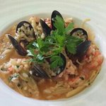 seafood risotto - delicious!