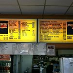 Their menu is huge