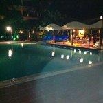 Poolside bar.