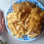 fish and chips from The Bay Chippy, Liscannor!