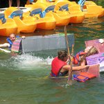 Windmill is now hosting annual Card Board Boat Races