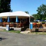 bar & food area