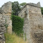 Pickering castle towers