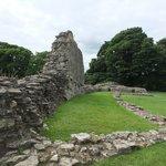 Pickering castle ruins