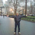 Central Park, em frente ao Hotel