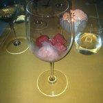 pre-dessert: anguria, gelatina e granita