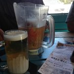 Cold beer!