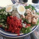 cobb salad from jd's market and deli
