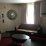 entry into the trio suite