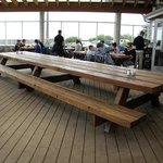 HUGE picnic table